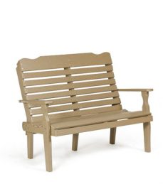 #426 4' Curve Back - Poly Benches