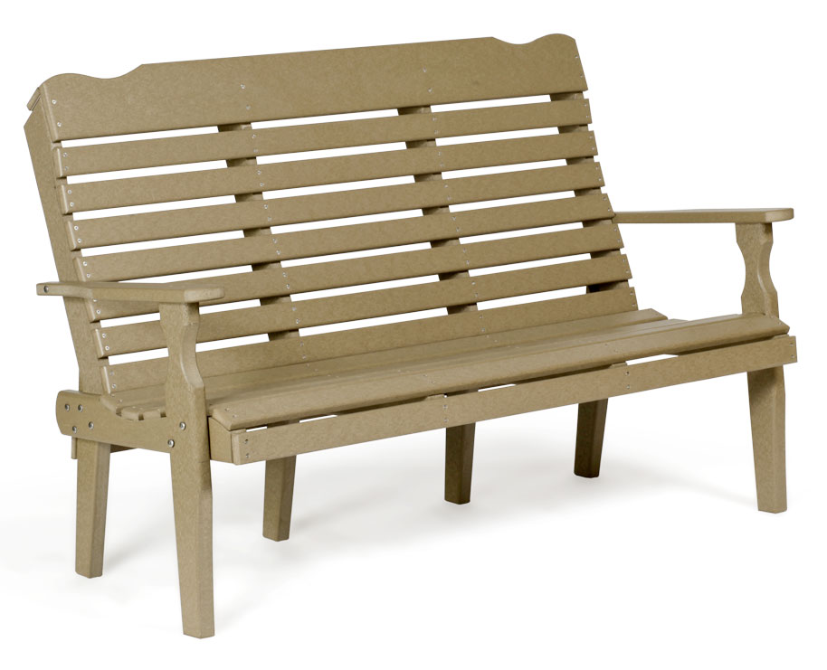#526 Curve Back - Poly Benches