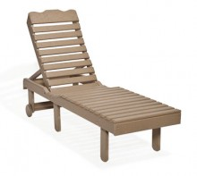 #801 Chaise Lounge - Poly Chaise Lounges
