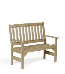 #940 English Garden Bench - Poly Benches