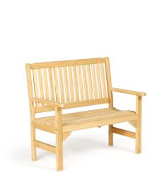 #940 English Garden Bench Wood