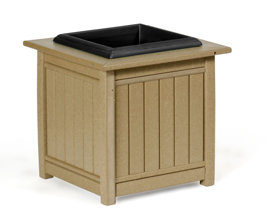 #960 Planter - Poly Planters and Trash Receptacles