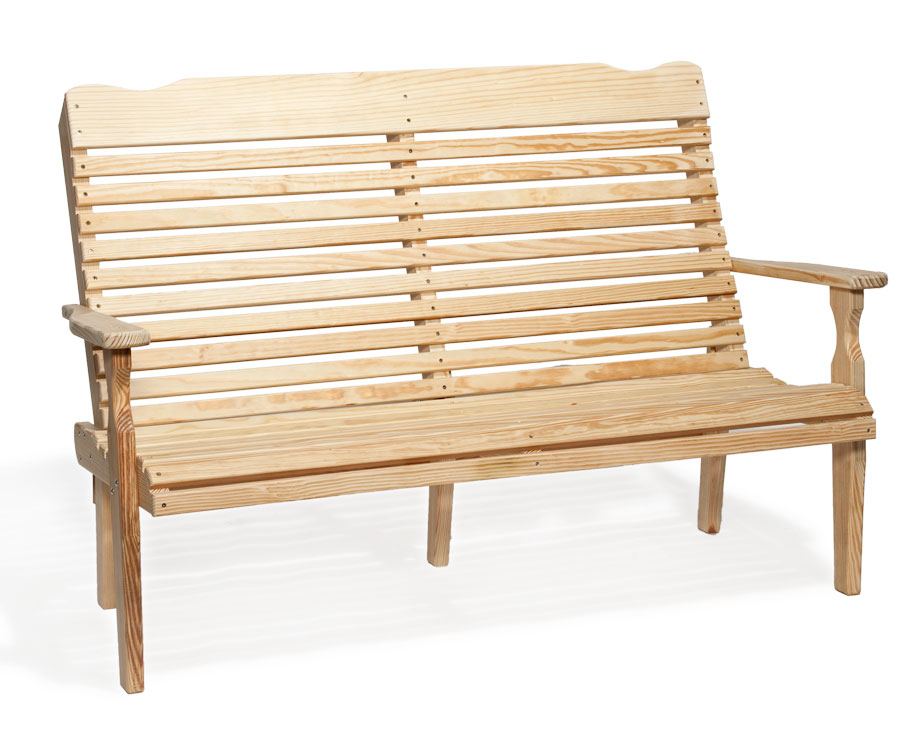 #526 Curve Back Bench