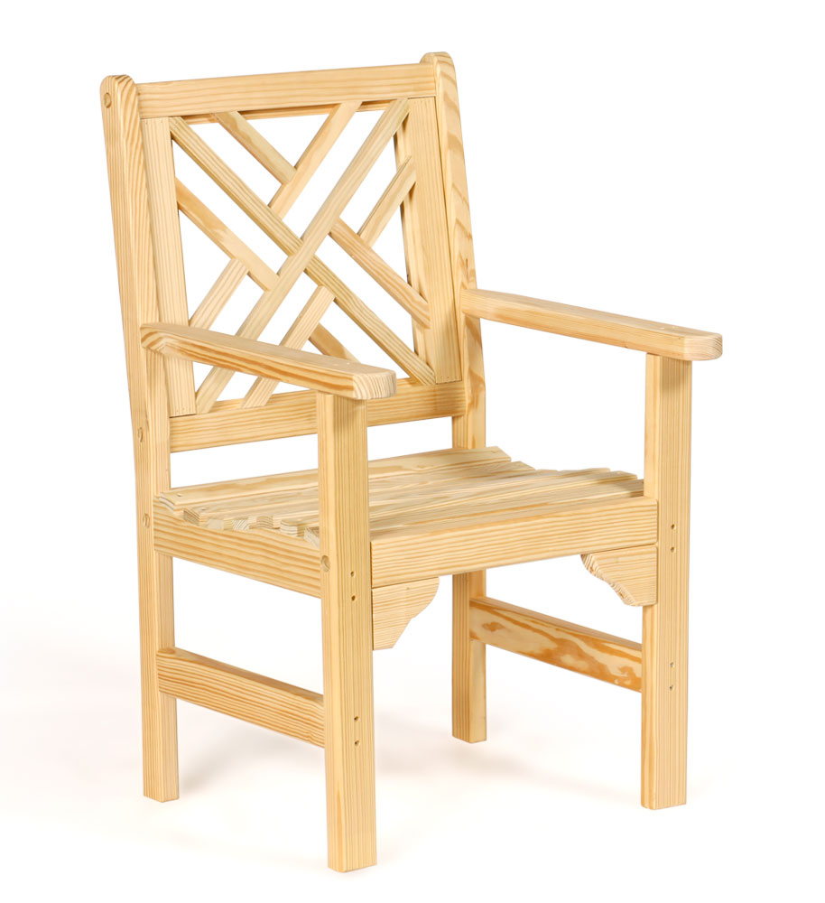 #921 Chippendale Chair - Wooden Chairs and Rockers