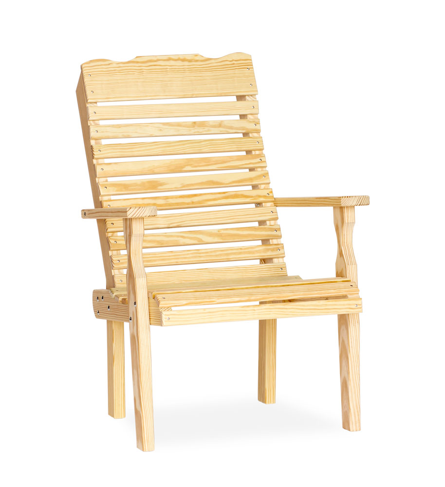 #300 Curve Back Chair - Wooden Chairs and Rockers