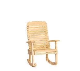 #321 Easy Chair Rocker - Wooden Chairs and Rockers