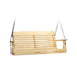 #410 4' West Chester Swing - Wooden Swings