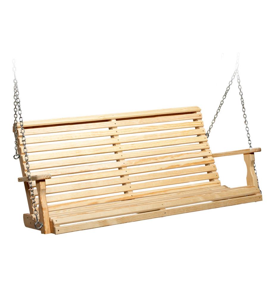 #515 5' Roll Back Swing - Wooden Swings