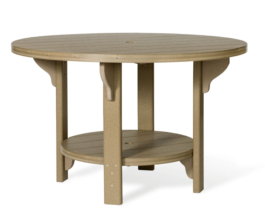 #748D Poly Round Dining
