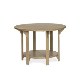 #760B Poly 60in Round Table Bar Height