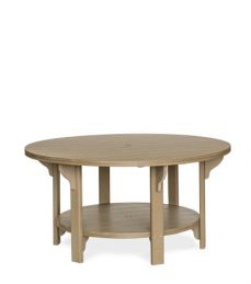 #760D Poly Round Dining