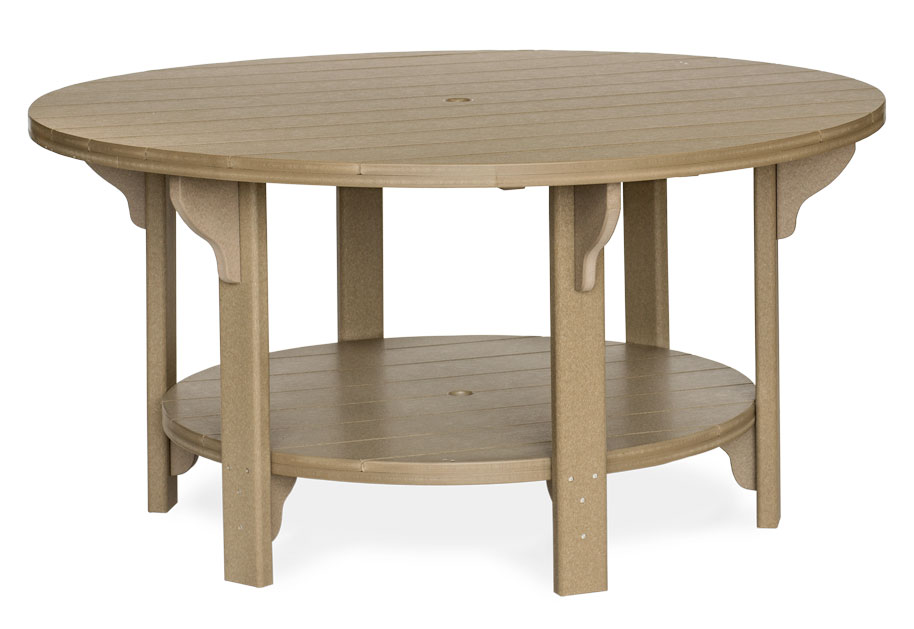 #760D Poly Round Dining Poly