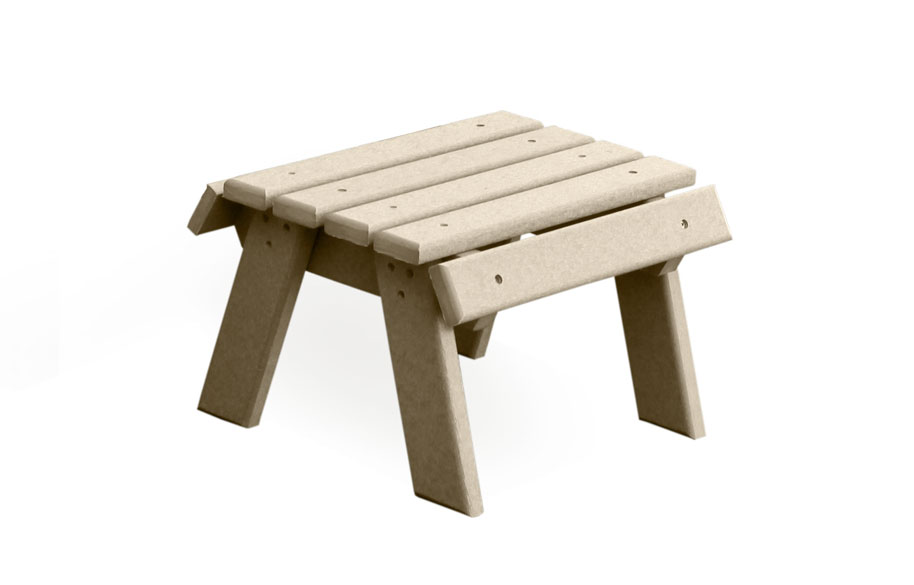 #802 Poly Footstool