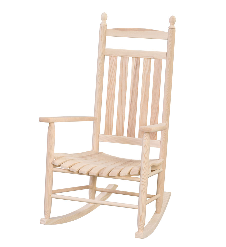 #92 Lumbar Rocker - Wooden Chairs and Rockers