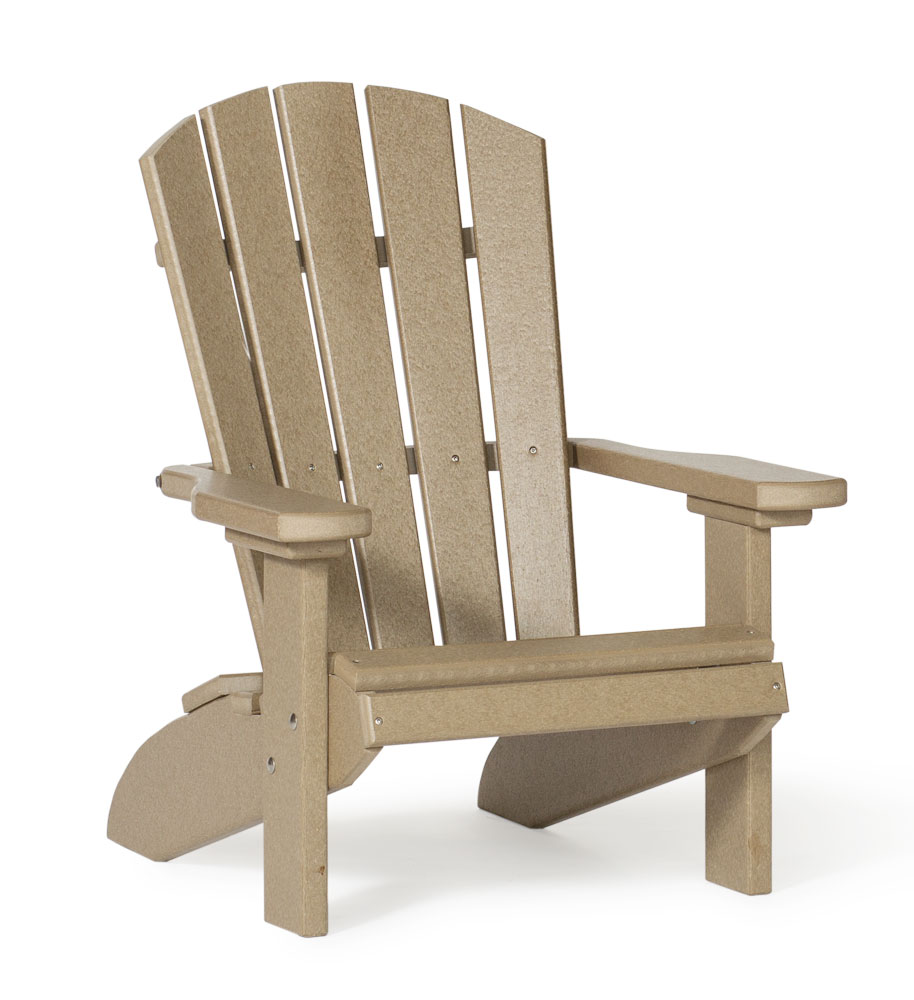 #312 Poly Kids Fanback Chair